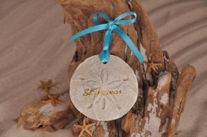 St Thomas Sand Dollar Ornament