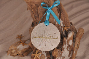 South Padre Island Sand Dollar Ornament