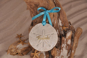 Tortola Sand Dollar Ornament