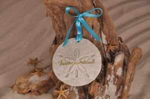 TREASURE ISLAND SAND DOLLAR, TREASURE ISLAND SAND ORNAMENT, TROPICAL SEASIDE ORNAMENT, COASTAL BEACH GIFT, MADE IN FLORIDA, BEACH LOVER GIFTS, BEACH SAND KEEPSAKES, VACATION SOUVENIR, GIFT SHOP OWNERS, PROMOTIONAL ITEMS, PARTY FAVOR, SPECIAL EVENT, COLLECTIBLES, HAND-CRAFTED, FUNDRAISER, DESTINATION WEDDING, BEACH WEDDING FAVORS
