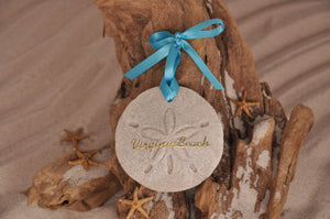 Virginia Beach Sand Dollar Ornament