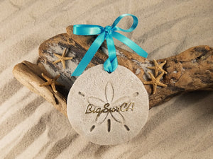 BIG SUR, BIG SUR SAND DOLLAR, SAND ORNAMENT, TROPICAL SEASIDE ORNAMENT, COASTAL BEACH GIFT, MADE IN FLORIDA, BEACH LOVER GIFTS, BEACH SAND KEEPSAKES, VACATION SOUVENIR, GIFT SHOP OWNERS, PROMOTIONAL ITEMS, PARTY FAVOR, SPECIAL EVENT, COLLECTIBLES, HAND-CRAFTED, FUNDRAISER, DESTINATION WEDDING, BEACH WEDDING FAVORS