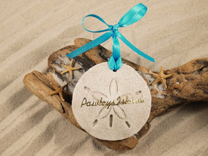 PAWLEY'S ISLAND SAND DOLLAR, PAWLEY'S ISLAND SAND ORNAMENT, TROPICAL SEASIDE ORNAMENT, COASTAL BEACH GIFT, MADE IN FLORIDA, BEACH LOVER GIFTS, BEACH SAND KEEPSAKES, VACATION SOUVENIR, GIFT SHOP OWNERS, PROMOTIONAL ITEMS, PARTY FAVOR, SPECIAL EVENT, COLLECTIBLES, HAND-CRAFTED, FUNDRAISER, DESTINATION WEDDING, BEACH WEDDING FAVORS