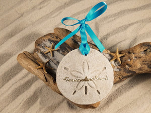 Fernandina Beach Sand Dollar Sand Ornament