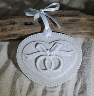 WEDDING/ENGAGEMENT RINGS SAND ORNAMENT