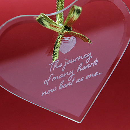 Many Hearts Adoption Ornament - Many Hearts One Beat