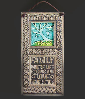 Family - Where Life Begins Wall Art