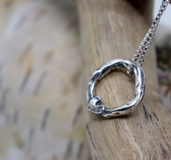 NEW...Adoptee Journey of Heart Necklace