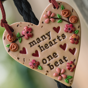 Many Hearts One Beat Ornament - Many Hearts One Beat