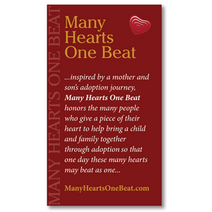 Many Hearts One Beat Story Card