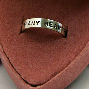 Limited Edition - Many Hearts Adoption Ring - Many Hearts One Beat