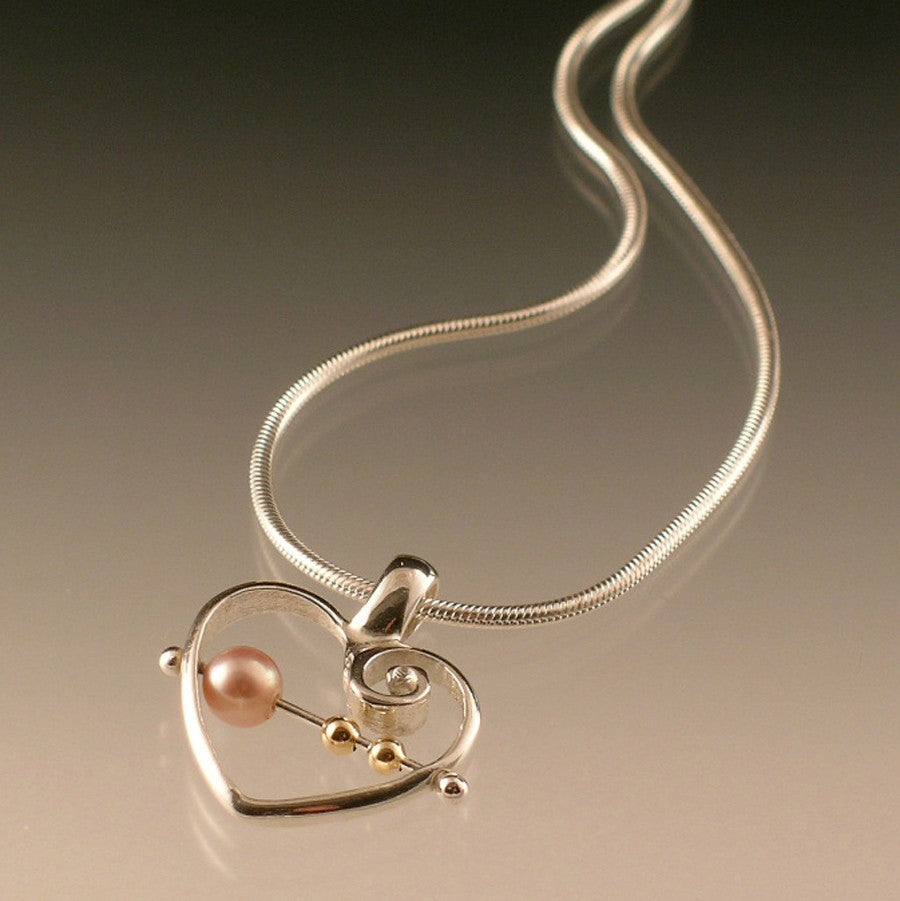 Original Forever Connected Heart Pendant - Many Hearts One Beat