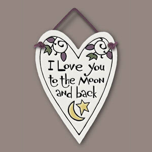 I Love You to the Moon & Back - Many Hearts One Beat