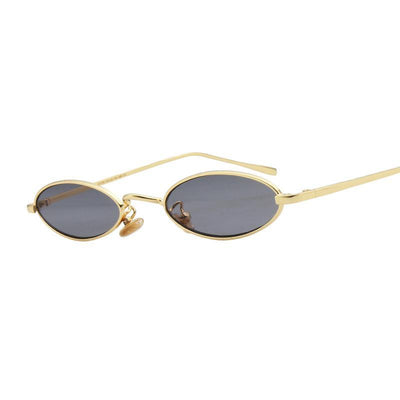 Shades-and-bikinis Brand Women Small Oval Sunglasses Fashion 1