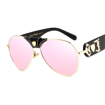 Shades-and-bikinis Fashion Summer Sunglasses Women Mirror Retro Black 1