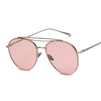 Shades-and-bikinis High Quality Red Lens Sunglasses Women Brand  1