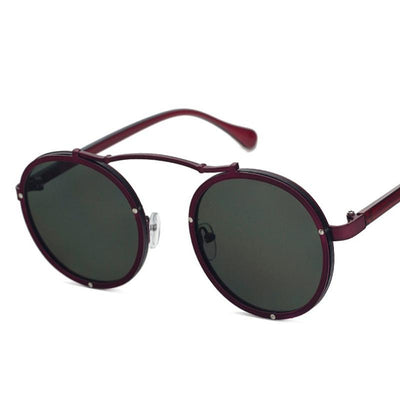 New Fashion Round Sunglasses Women Men Circle Retro