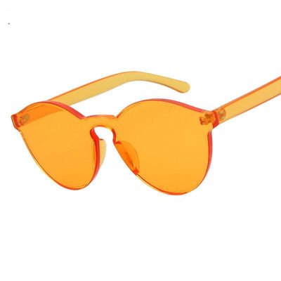 Shades-and-bikinis New One Piece Lens Sunglasses Women Transparent 1