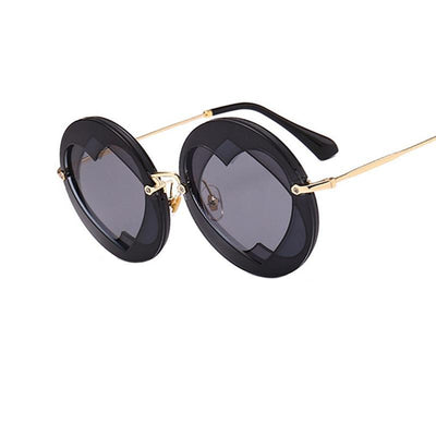 Shades-and-bikinis Summer Round Sunglasses Women Popular Brand 1