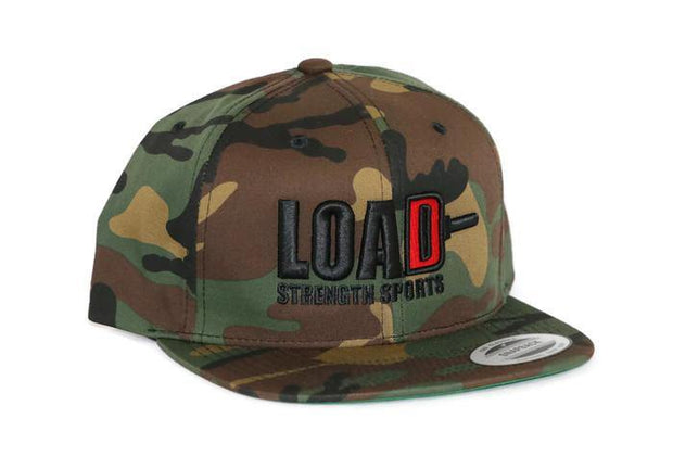 Weightlifting and Powerlifting Clothing | LOAD Snapback - Load Strength Sports
