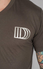 "Weightlifting and Powerlifting Clothing | ""D3"" V-Neck - Load Strength Sports"