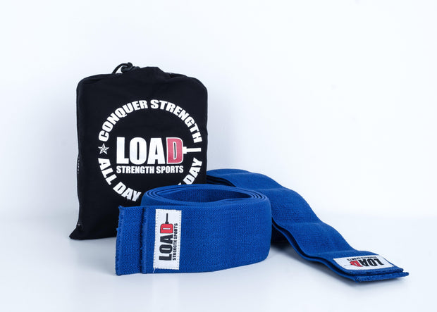 "Weightlifting and Powerlifting Clothing | The ""BASE"" Knee Wraps - Load Strength Sports"