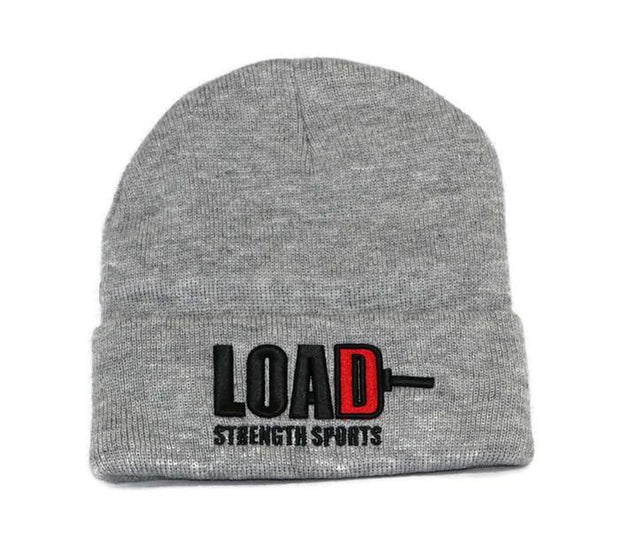 Weightlifting and Powerlifting Clothing | LOAD Cuffed Beanie - Load Strength Sports