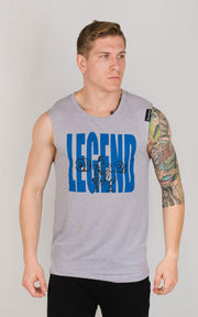 "Weightlifting and Powerlifting Clothing | ""Legend"" Tank - Load Strength Sports"