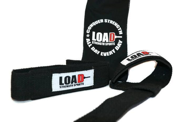 Weightlifting and Powerlifting Clothing | Heavy LOAD Lifting Straps - Load Strength Sports