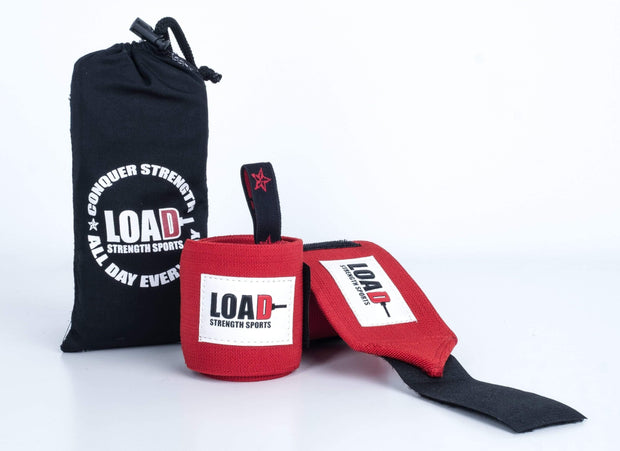 "Weightlifting and Powerlifting Clothing | The ""CHAMP"" Wrist Wraps - Load Strength Sports"