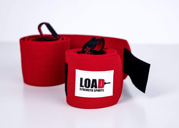 "Weightlifting and Powerlifting Clothing | The ""PRO"" Wrist Wraps - Load Strength Sports"