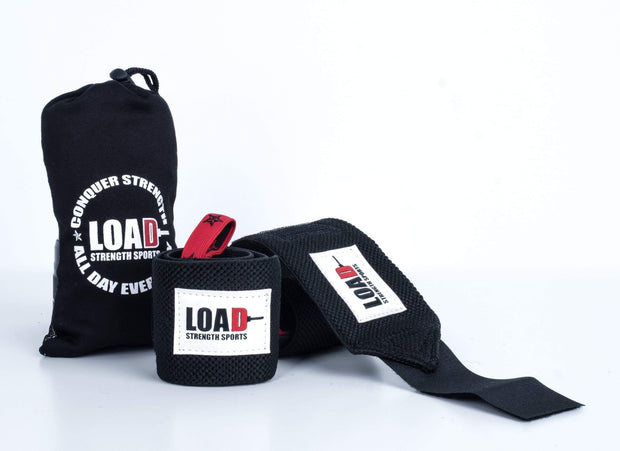 "Weightlifting and Powerlifting Clothing | The ""CHAMP"" Robles Wrist Wraps - Load Strength Sports"