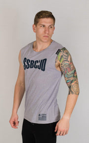 "Weightlifting and Powerlifting Clothing | ""SSBC&JD"" Tank - Load Strength Sports"