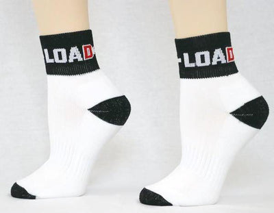 Weightlifting and Powerlifting Clothing | Lifting Ankle Socks - Load Strength Sports
