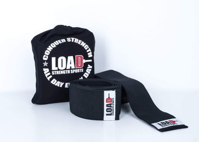 "Weightlifting and Powerlifting Clothing | The ""CHAMP"" Knee Wraps - Load Strength Sports"