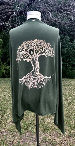 Green Tree of Love Wrap