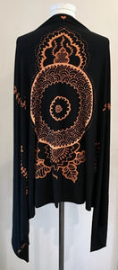 Black Mehndi Design Wrap