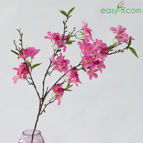 Shop silk flowers at easy ff artificial flowers 1pcs apple blossom silk flower stem for home decor in 3 colors mightylinksfo