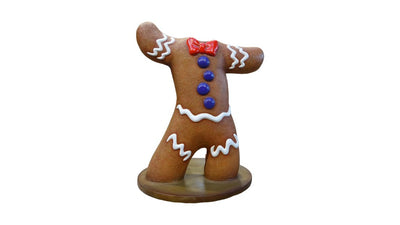 Gingerbread Cookie Photo Op Display Prop Decor Statue - LM Treasures Prop Rentals