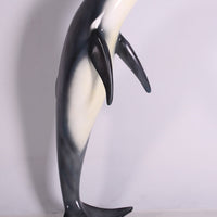 Large Jumping Dolphin Life Size Statue