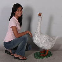 Goose Life Size Statue Prop