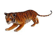 Crouching Bengal Tiger Life Size Statue