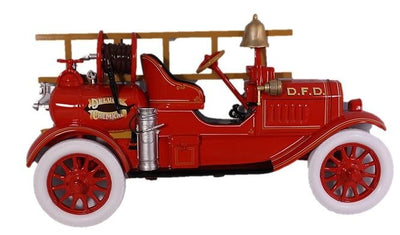 Fire Truck Wall Decor Prop Resin Statue - LM Prop Rentals
