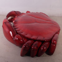 Crab Large Life Size Statue Prop