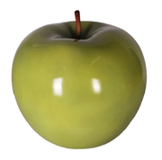 Large Green Apple Over Sized Statue