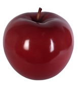 Large Red Apple Over Sized Statue