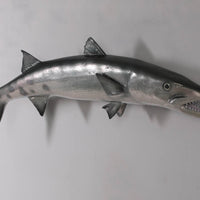 Barracuda Fish Hanging Life Size Statue