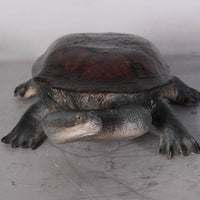 Turtle Long Neck Garden Prop Resin Decor Statue