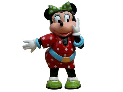 Cartoon Celebrity Mouse Female Movie Hollywood Prop Decor Statue - LM Prop Rentals