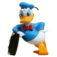 Cartoon Celebrity Duck White Male Movie Hollywood Prop Decor Statue - LM Treasures Prop Rentals